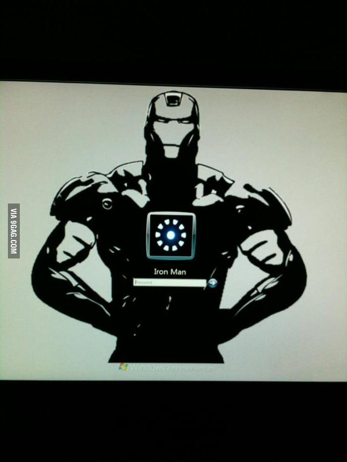 My Windows 7 login screen