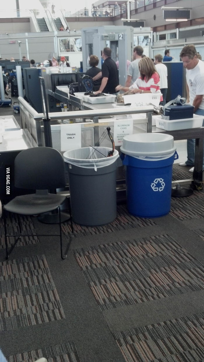 Someone tried getting this through security...