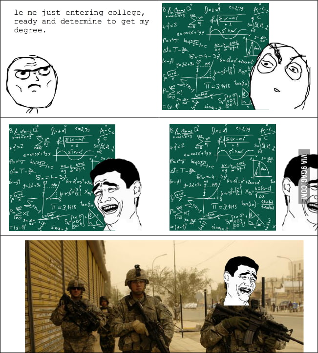 Why I joined the army.