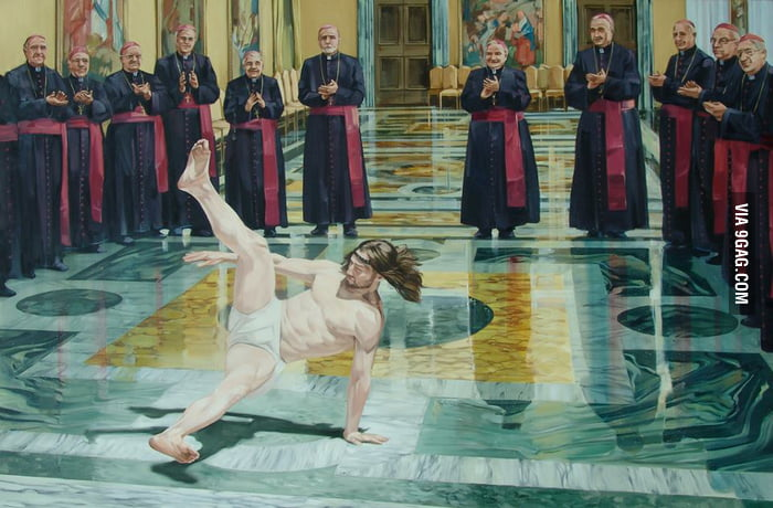 Breakdance Jesus is awesome