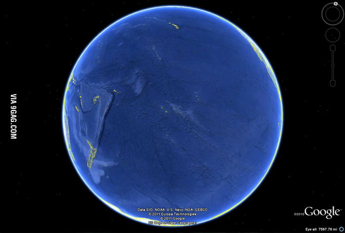 Sometimes I forget just how big the Pacific Ocean is.