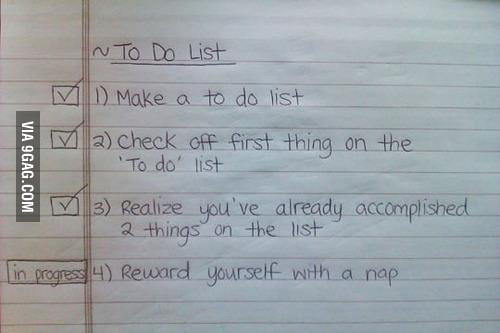 "My Girlfriend ""To do list"" !!!"