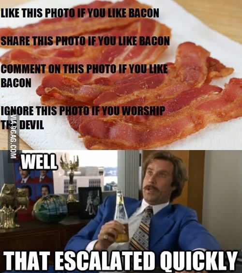Bacon just got serious
