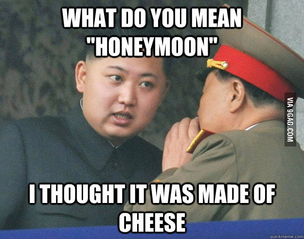 Hungry Kim Jong Un gets married