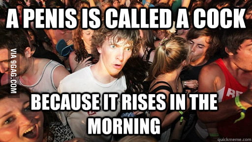 And it always wakes you up