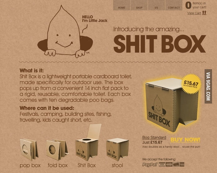 Amazing Shit Box