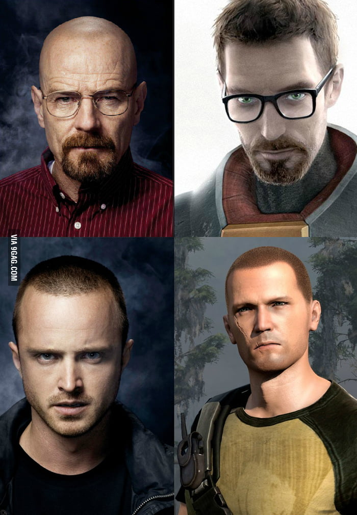 Perfect choice for Gordon Freeman and Cole Macgrath