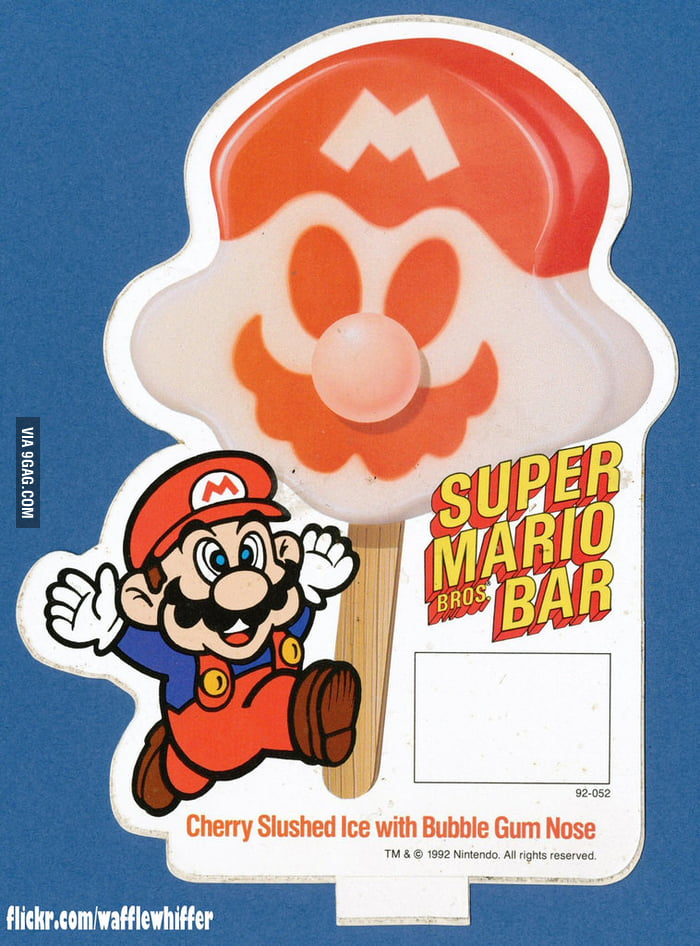 Super Mario Bros Bar