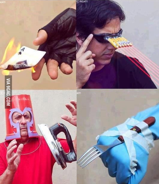 X-Men DIY