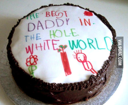 Aw, what a sweet cake...
