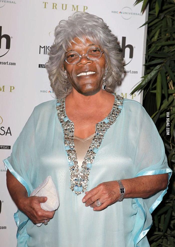 If you put Samuel Jackson's face on Paula Deen's head...