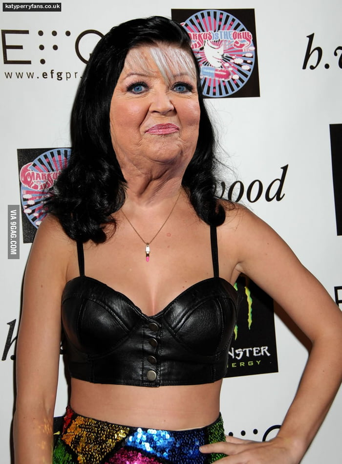 ...Paula Deen's face on Katy Perry's body should be better