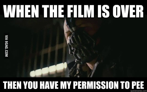 I watched the Dark Knight Rises last night...