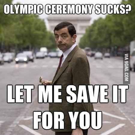 Good guy Mr. Bean