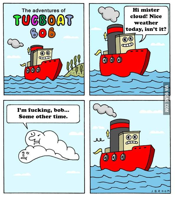 The adventures of Tugboat Bob!