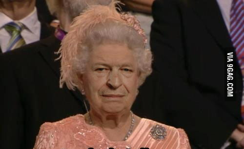 If you put John Noble's face on The Queen's head...