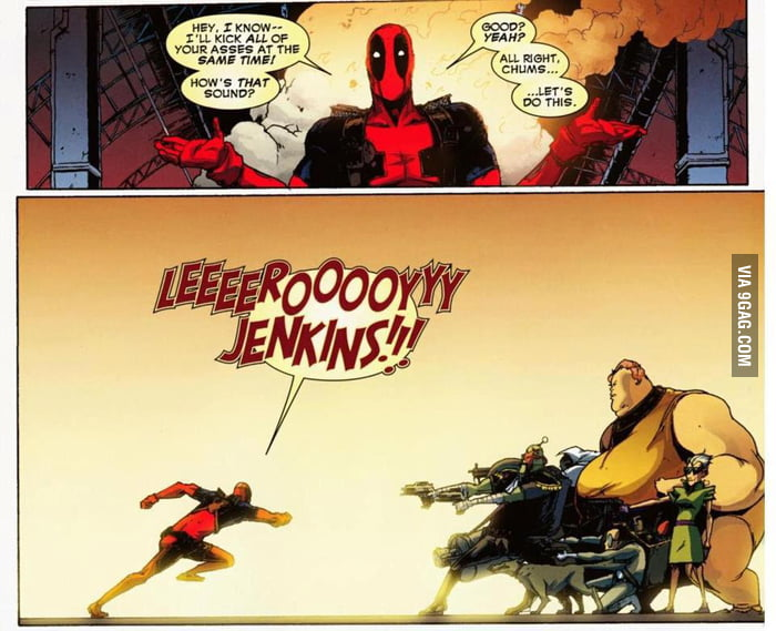 Gah damnit, Deadpool