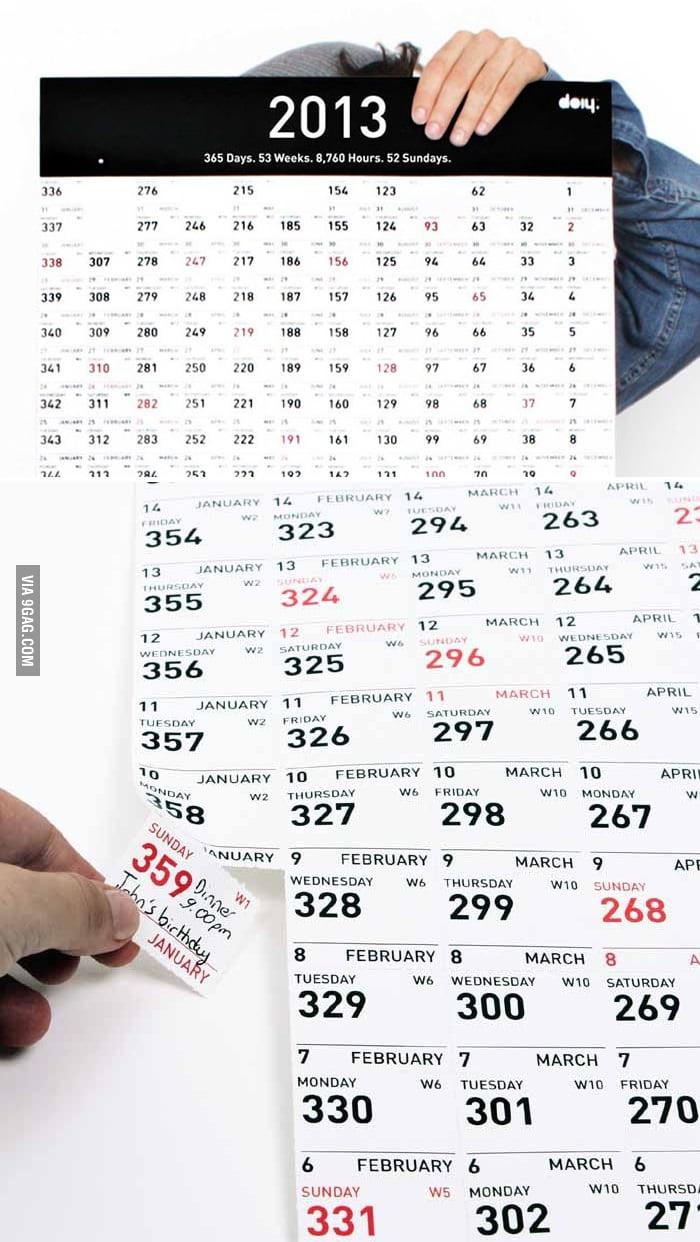 2013 Carpe Diem Calendar