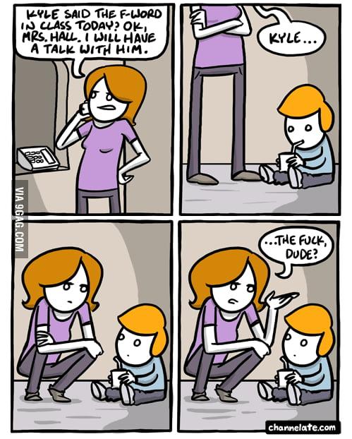 Parenting fail...