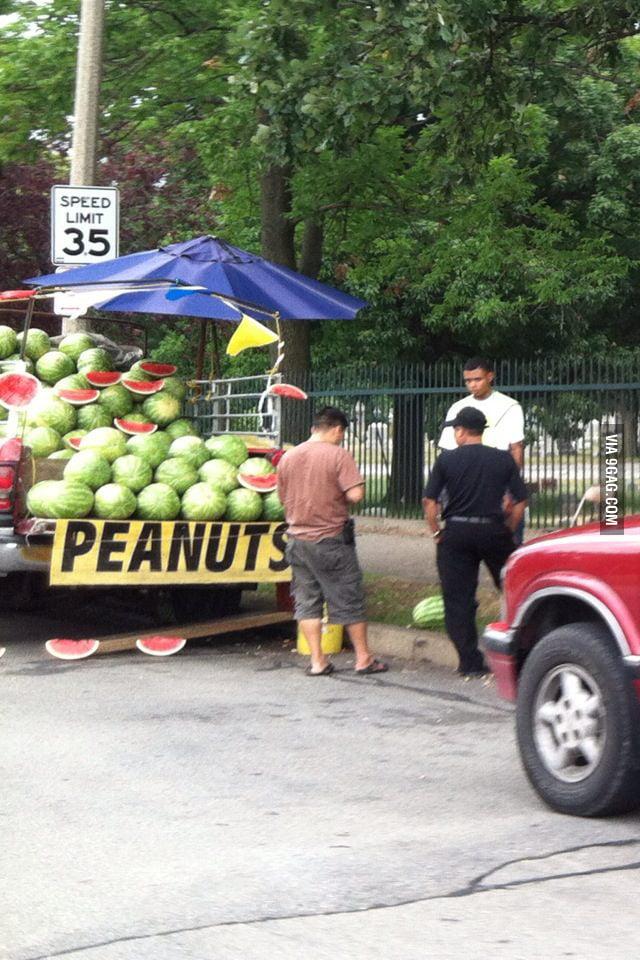 Peanuts?!