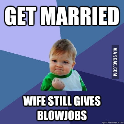 Success Kid on marriage
