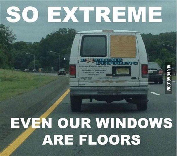Extreme floorers