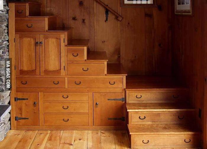 Multi-Tasking Staircase