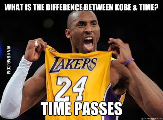Oh Kobe...
