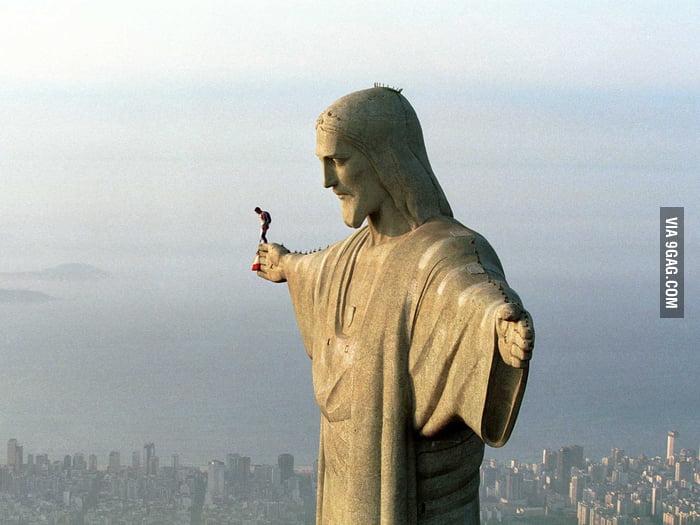 BASE jumping in Rio de Janeiro