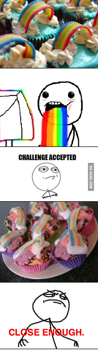 Close enough to rainbows.