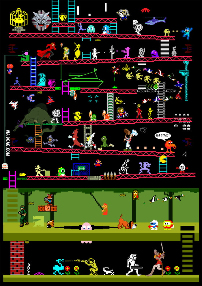 Classic Video And Arcade Games