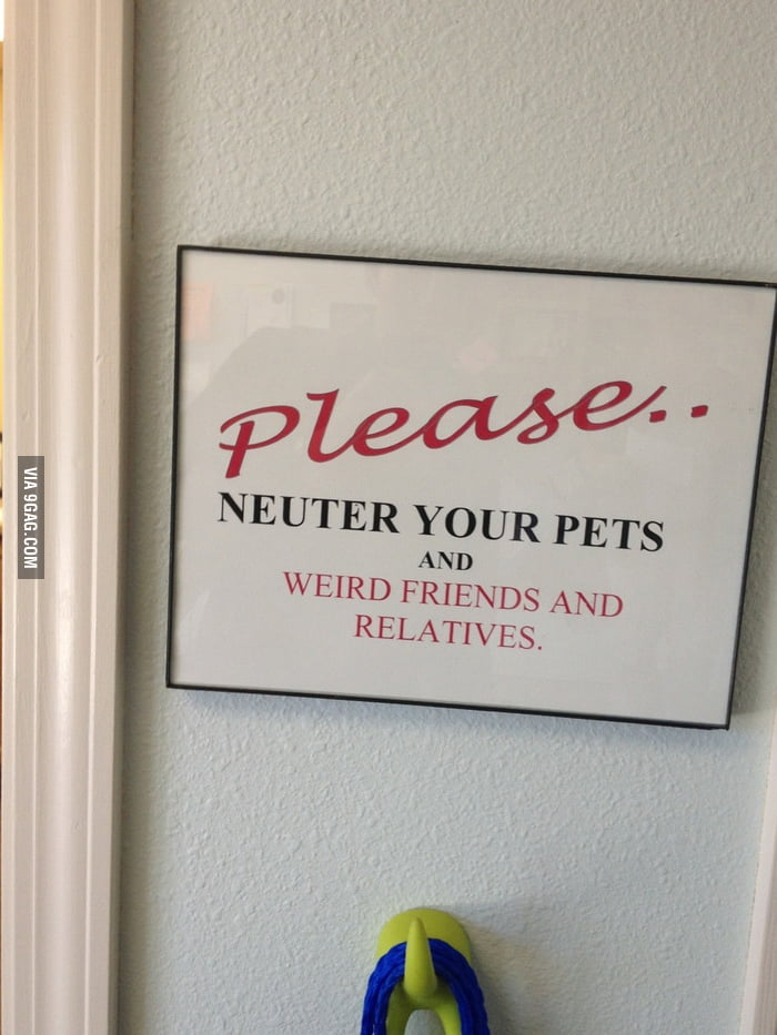 Saw this at the vet...