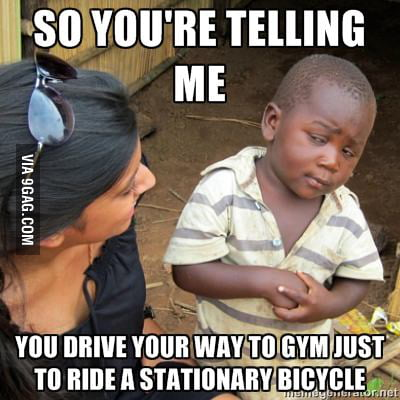 So you're telling me...