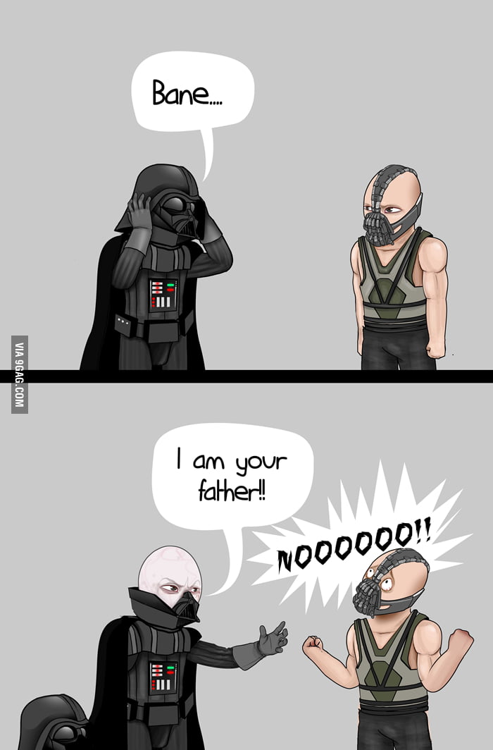Darth Vader and Bane