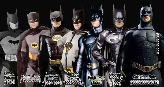 Alfredo Casero, the best Batman ever