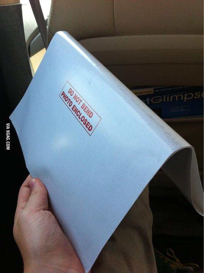 Dear mail man, is it really