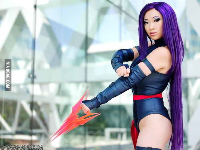 Psylocke and Psychic blade