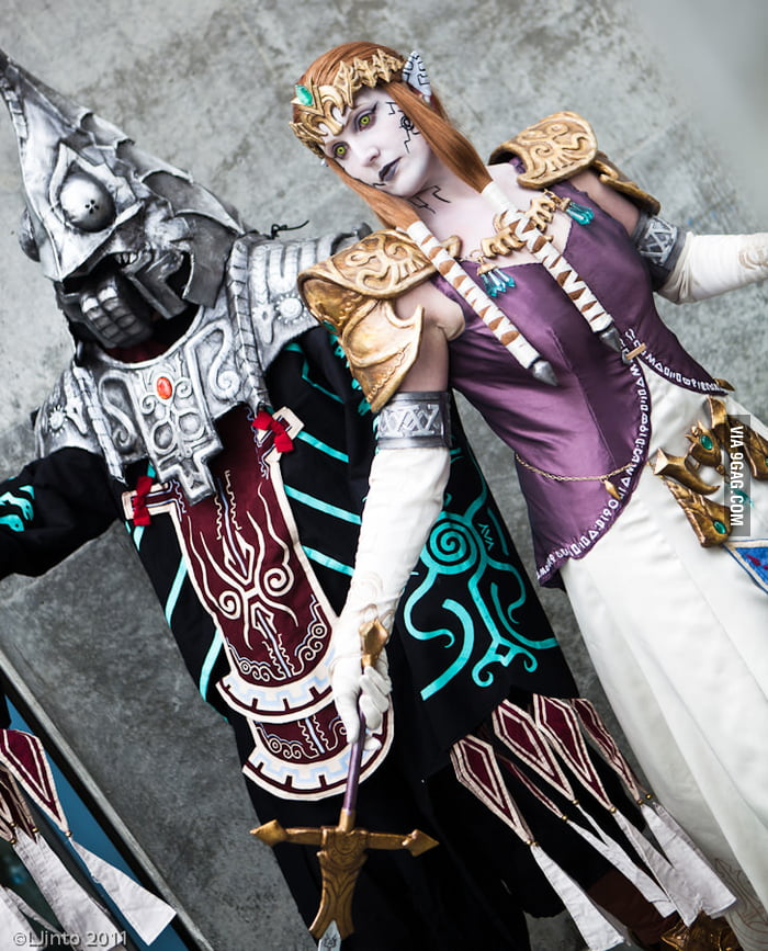 Zant and Puppet Zelda