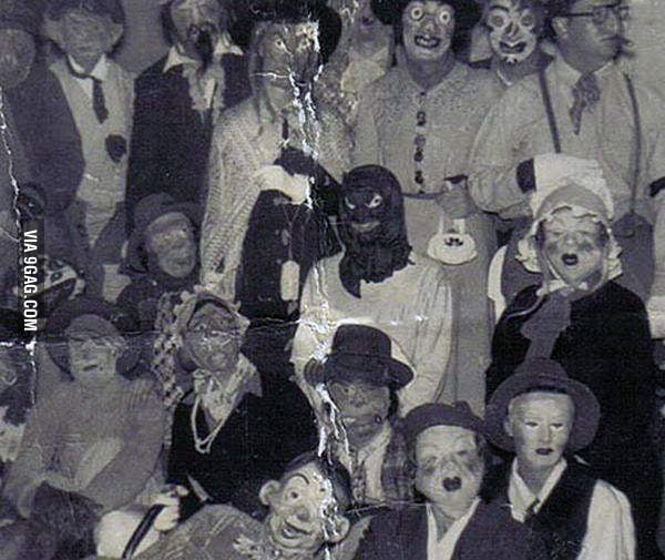 Halloween in the 30's far more scary