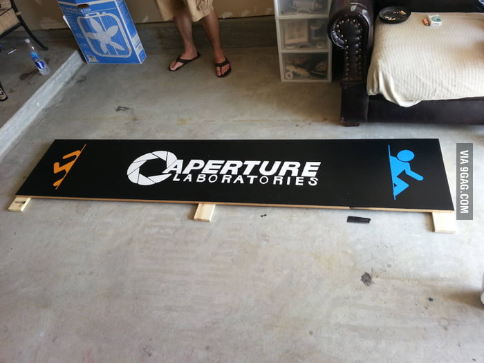 Portal Beer Pong Table