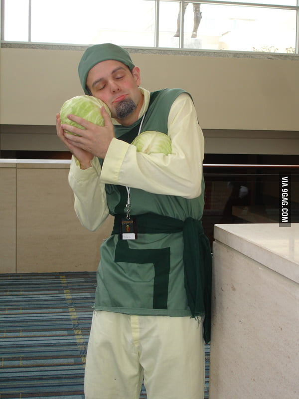 Cabbage Guy