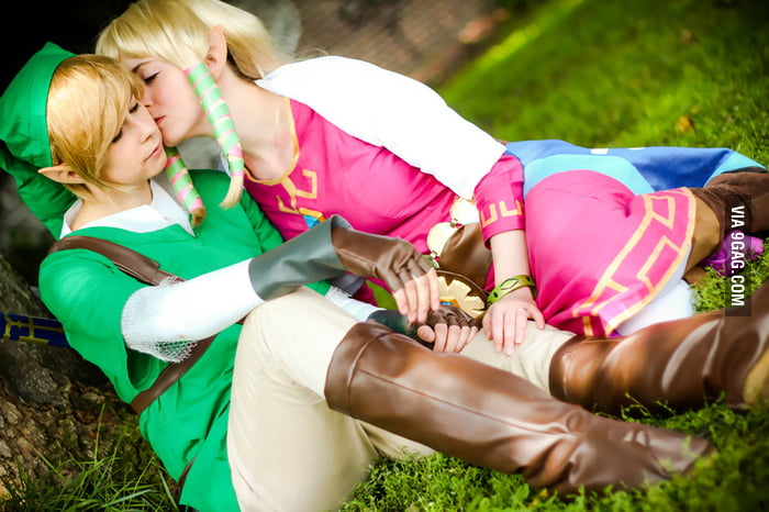 Link + Zelda - Skyward Sword