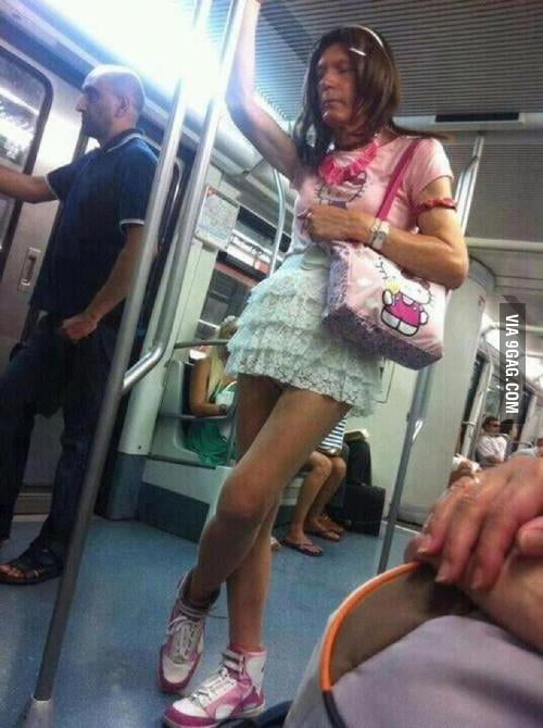 What I saw in the subway