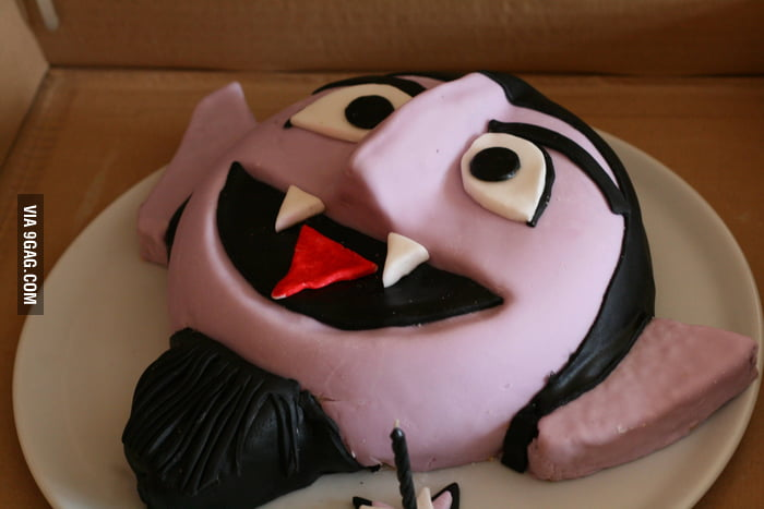Awesome Vampire Cake!