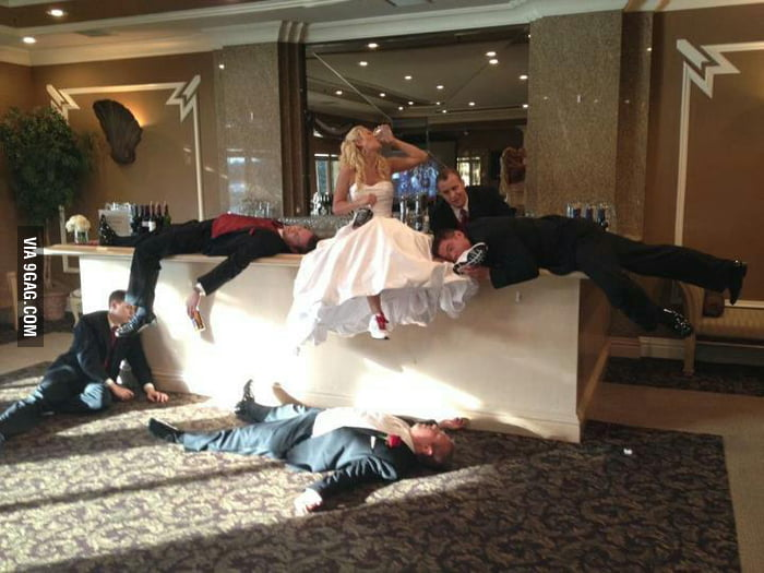 The best wedding photo