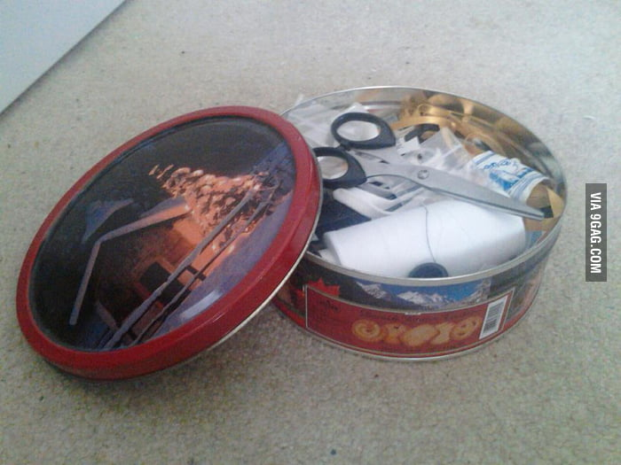My childhood's biggest disappointment at my grandma's house.