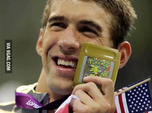 Phelps got the real GOLD