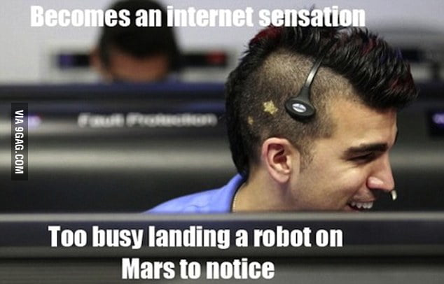 NASA Mohawk Guy