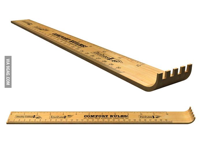 Ruler/Backscratcher