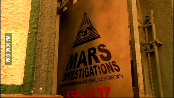 Illuminati symbol in Veronica Mars